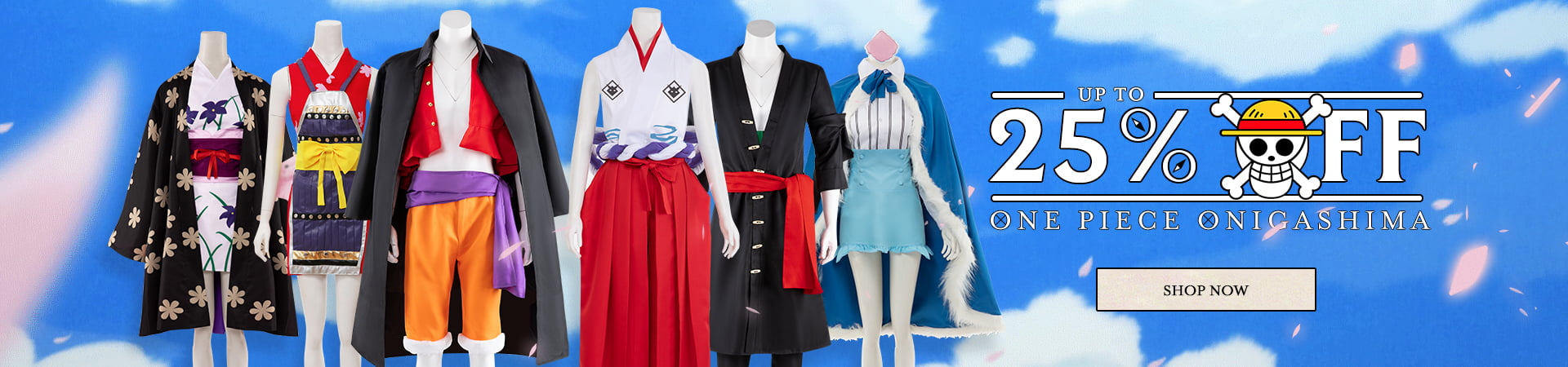 Up To 25% Off Coupon code for One Piece Onigashima