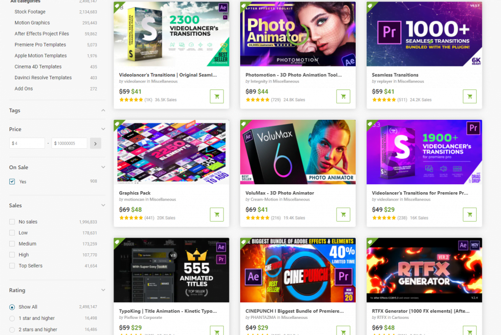 Videohive Midyear Sales
