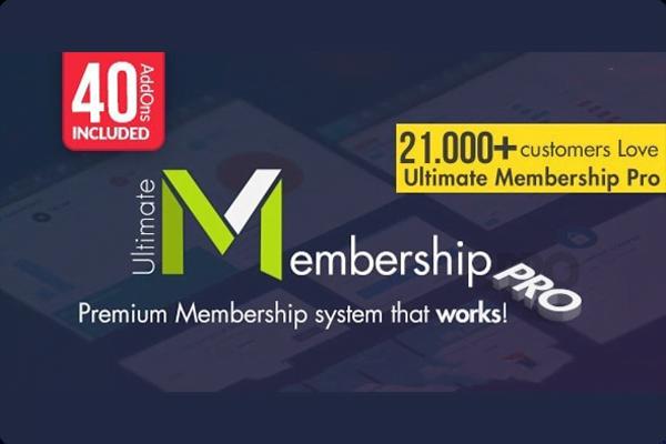 Ultimate Membership – Wordpress Plugin